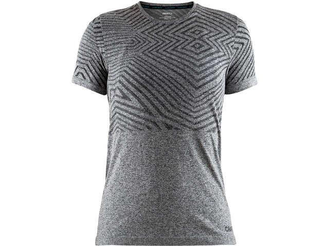 Craft Cool Comfort She Rundhals SS Shirt Damen black melange